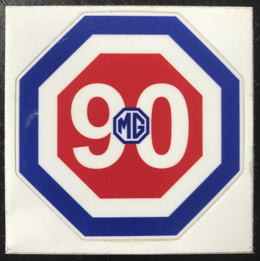 Sticker MG