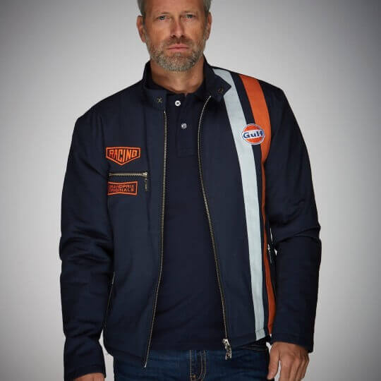 GULF Roadmaster Jacket navy blue