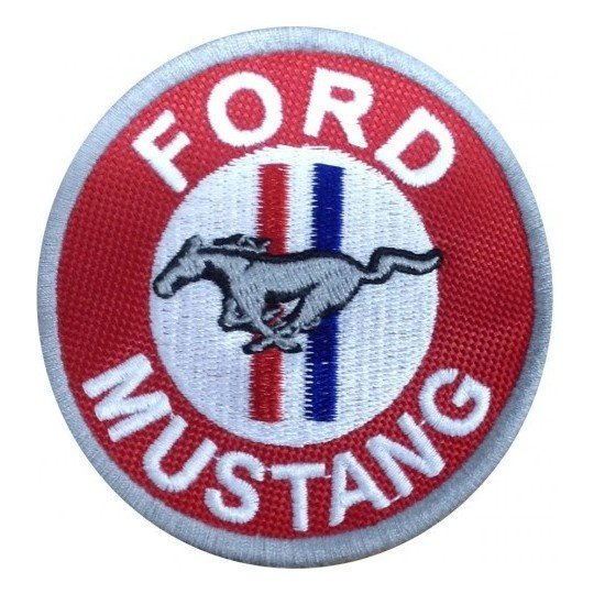 Écusson Ford Mustang 7cm