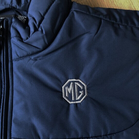 Doudoune légère MG bleu marine