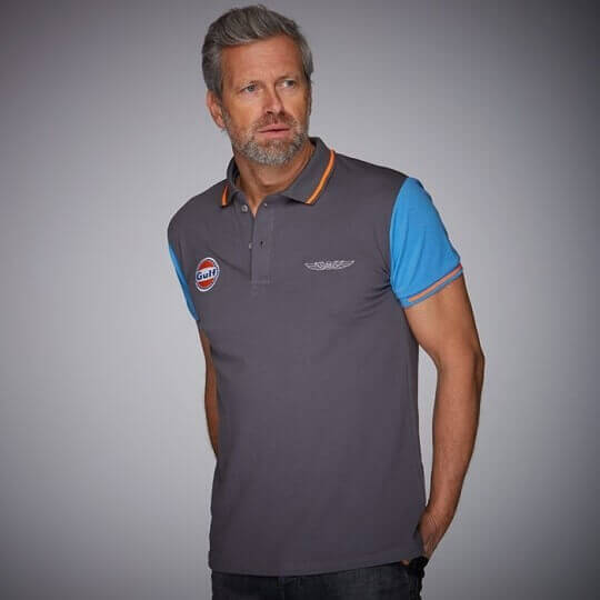 GULF New Sport polo shirt anthracite