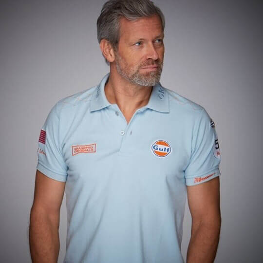 Polo Gulf Delaney bleu ciel