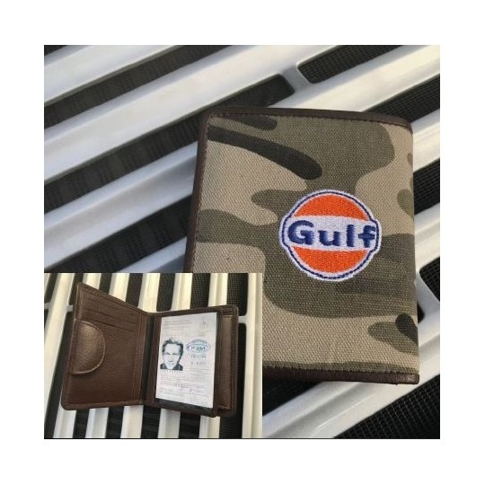 Portefeuille GULF camouflage