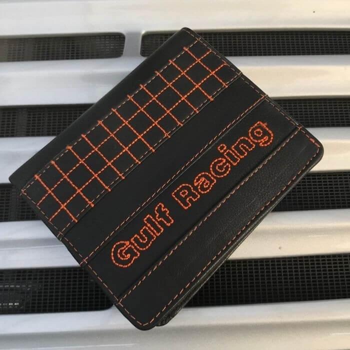 Portefeuille GULF Racing Constat noir