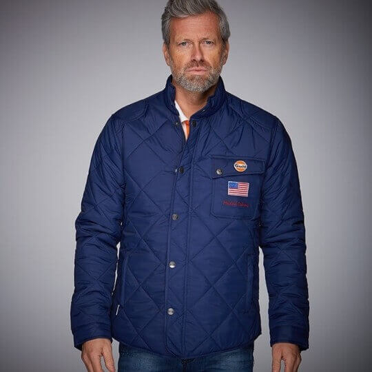 BLOUSON GRANDPRIX ORIGINALS OLD RACEMASTER NAVY BLUE