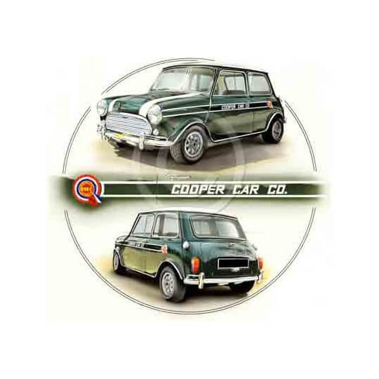 Green Cooper Car Company Mini