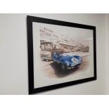 Jaguar Type D 1956 - Grand Format / Original