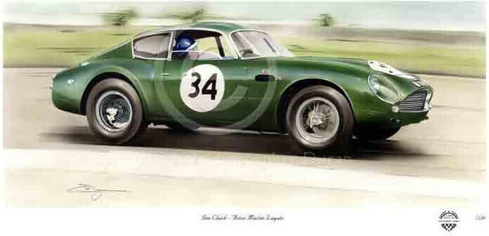 Jim Clark, Aston DB4GT Zagato