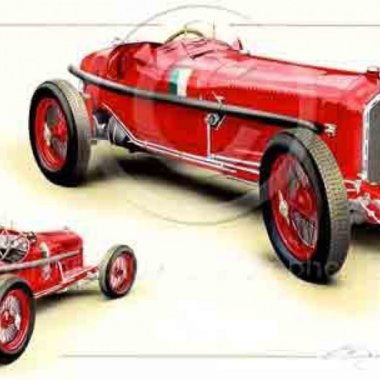Reproduction Alfa Romeo Mono Posto